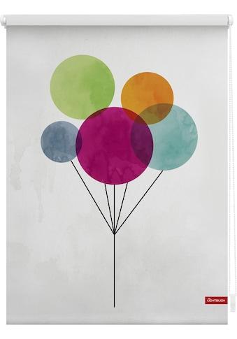 LICHTBLICK Seitenzugrollo »Klemmfix Motiv Ballon«, Lichtschutz, ohne Bohren,... kaufen