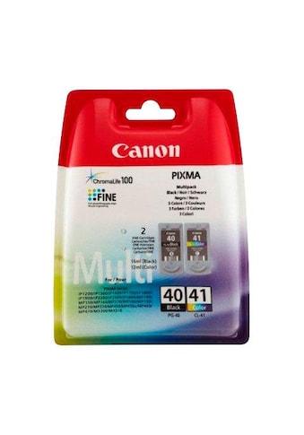 Canon »PG - 40/CL - 41 Kombi - Pack: schwarz, cyan, magenta, gelb« Tintenpatrone kaufen