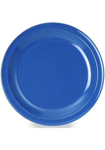 WACA Speiseteller, (Set), Melamin, Ø 23,5 cm kaufen