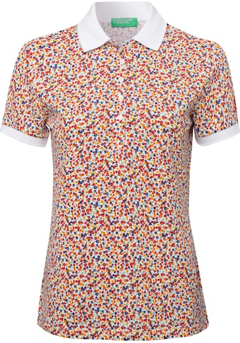 United Colors of Benetton Poloshirt, mit Anker Minimal-Print kaufen
