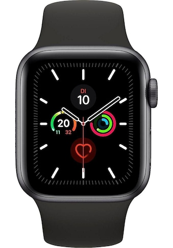 Watch Series 5 GPS, Aluminium space grau, 44 mm mit Sportarmband, Apple kaufen