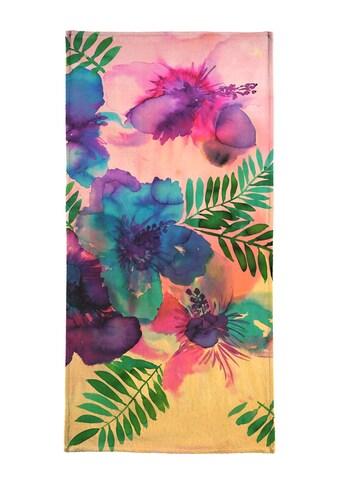 """Handtuch """"Skye Hibiscus Floral"""", Juniqe kaufen"""
