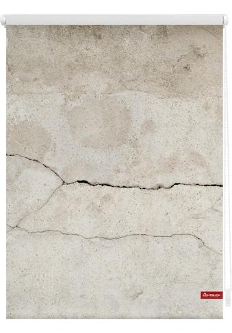 LICHTBLICK Seitenzugrollo »Klemmfix Motiv Beton«, Lichtschutz, ohne Bohren,... kaufen