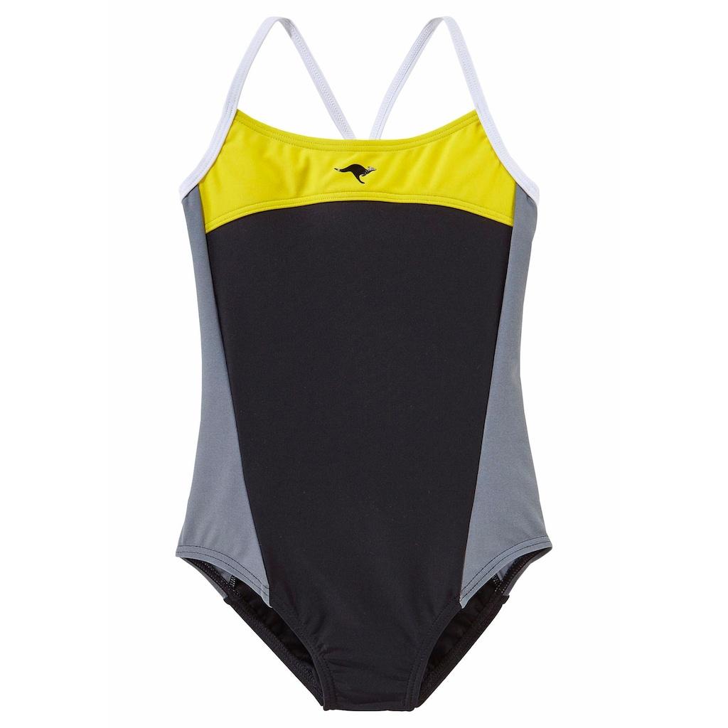 KangaROOS Badeanzug, im Colourblocking-Style