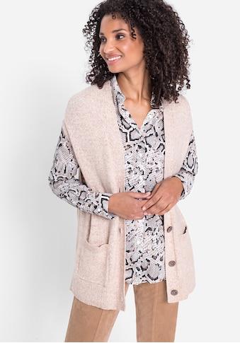 Olsen Strickweste, mit aufgesetzten Taschen vorne kaufen