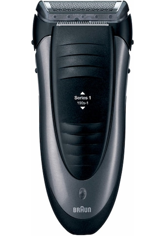 Braun Elektrorasierer »Series 1 190s-1«, 1 St. Aufsätze, Langhaartrimmer kaufen