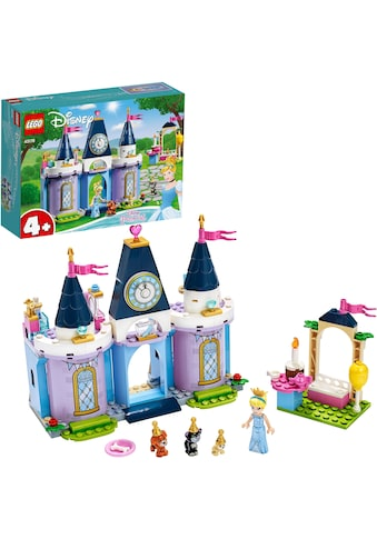 """LEGO® Konstruktionsspielsteine """"Cinderellas Schlossfest (43178), LEGO® Disney Princess™"""", Kunststoff, (168 - tlg.) kaufen"""