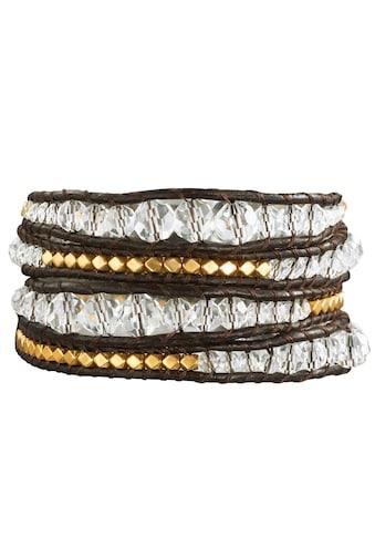 Rafaela Donata Wickelarmband »UK001«, (1 tlg.), aus Echtleder kaufen