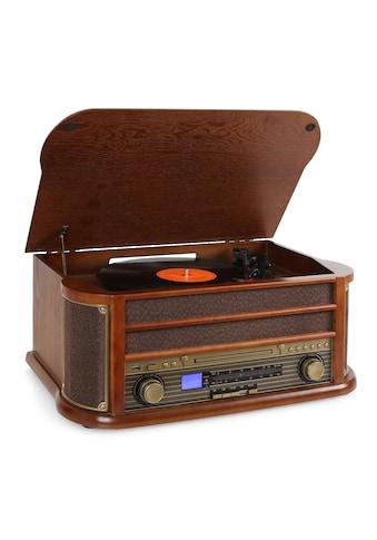 Auna Retro Microanlage USB CD MP3 Nostalgie Plattenspieler kaufen