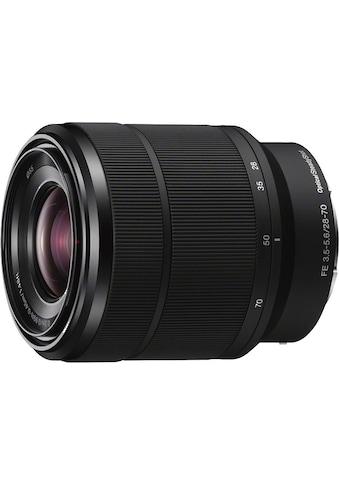 Sony Zoomobjektiv »SEL-2870 FE« kaufen