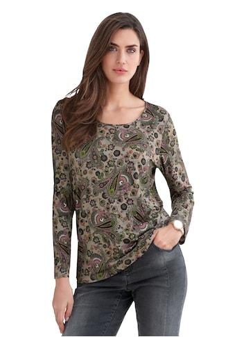 Emilia Lay Langarmshirt »Shirt mit Rundhals-Ausschnitt« kaufen