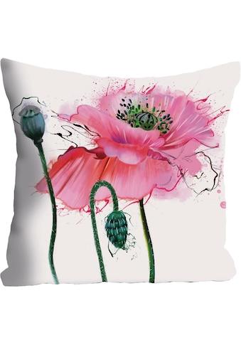 queence Kissenhülle »Blume«, (1 St.) kaufen