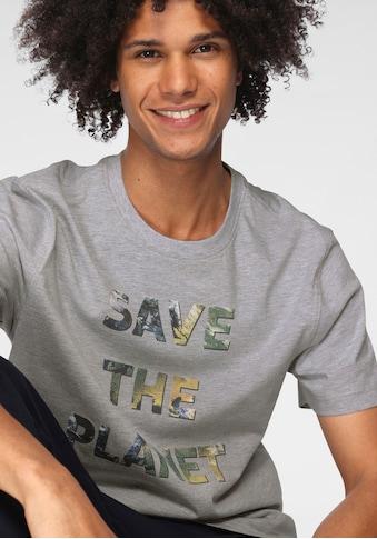 OTTO products T-Shirt, SAVE THE PLANET- Druck/aus GOTS zertifizierter Bio-Baumwolle kaufen