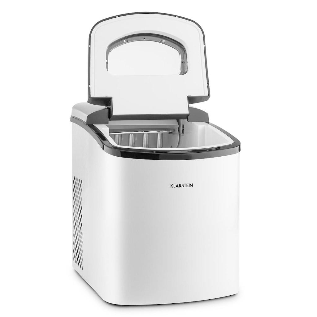 Klarstein Eiswürfelbereiter Eiswürfelmaschine Ice Maker 150W 10kg/24h »MANHATTAN«
