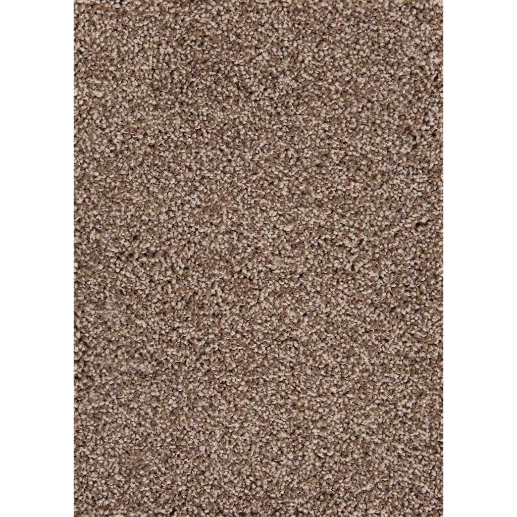 Andiamo Teppichboden »Anne braun«, rechteckig, 10 mm Höhe, Meterware, Breite 400 cm, Länge frei wählbar