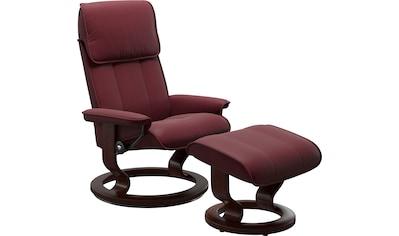 Stressless® Relaxsessel »Admiral«, mit Classic Base, Größe M & L, Gestell Braun kaufen