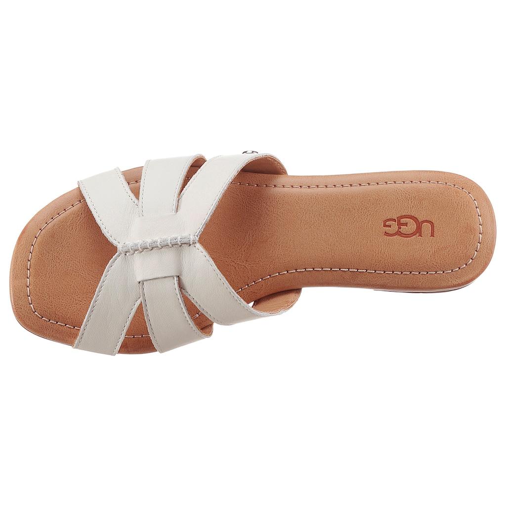 UGG Pantolette »Teague«, mit gepolstertem Fußbett