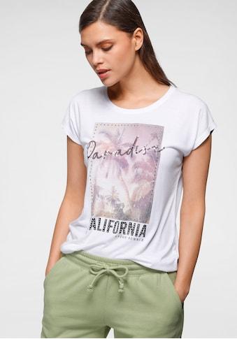 HaILY'S T-Shirt, mit Glitzersteinen und Pailletten kaufen