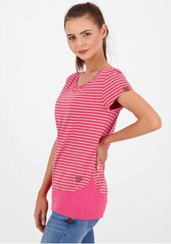Alife & Kickin T-Shirt »CocoAK«, sommerliches Shirt im Basic- Look mit Kontrast-Details kaufen