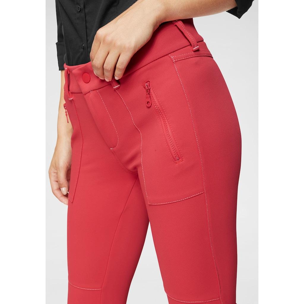 MAC 7/8-Hose »Vision Pants«, Kopntrastfarbene Nähte