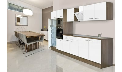 RESPEKTA Küchenzeile »York«, mit E-Geräten, Breite 330 cm kaufen