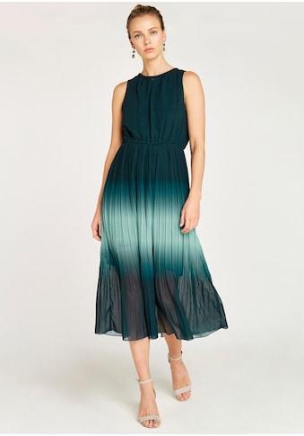 Apricot Chiffonkleid »Ombre Grecian Neck Midi Dress« kaufen