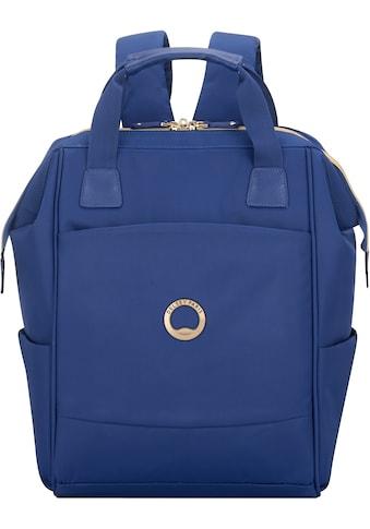 Delsey Laptoprucksack »Montrouge, blue«, mit TSA-Schloss kaufen