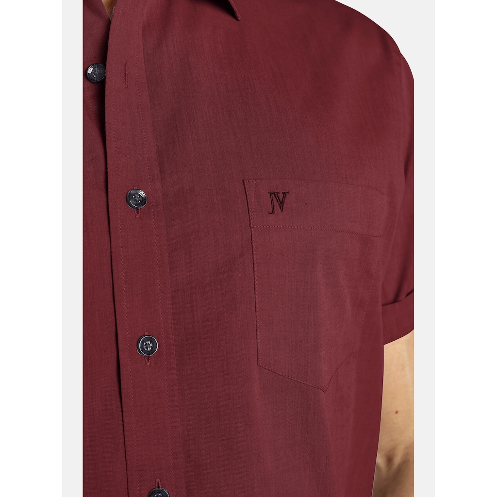 Jan Vanderstorm Kurzarmhemd »EVIN«, (2er-Pack), aus reiner Baumwolle