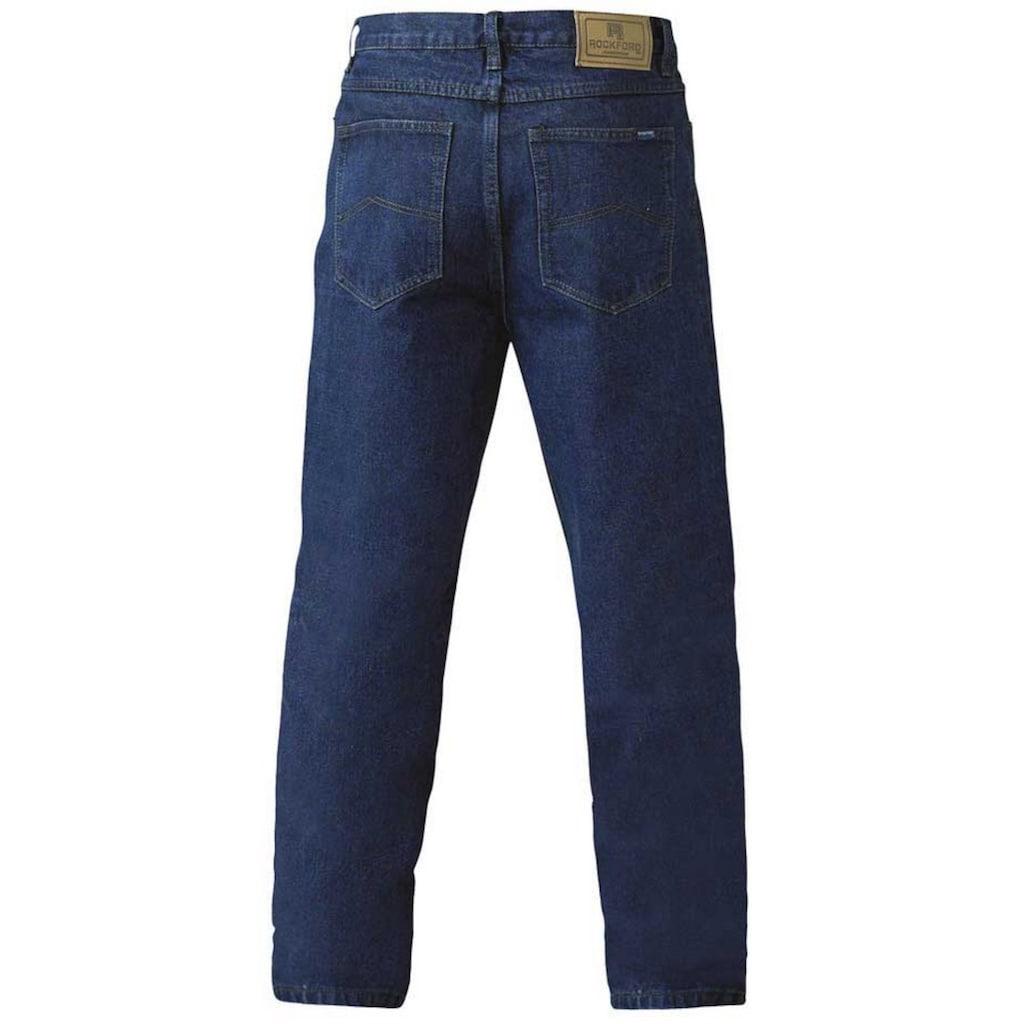 Duke Clothing Comfort-fit-Jeans »Herren Rockford Komfort Fit Jeans«