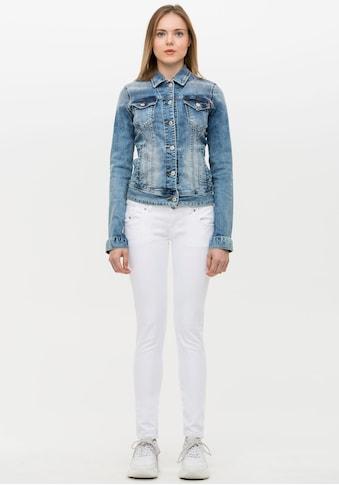 LTB Jeansjacke »DEAN X«, in angesagten Waschungen kaufen