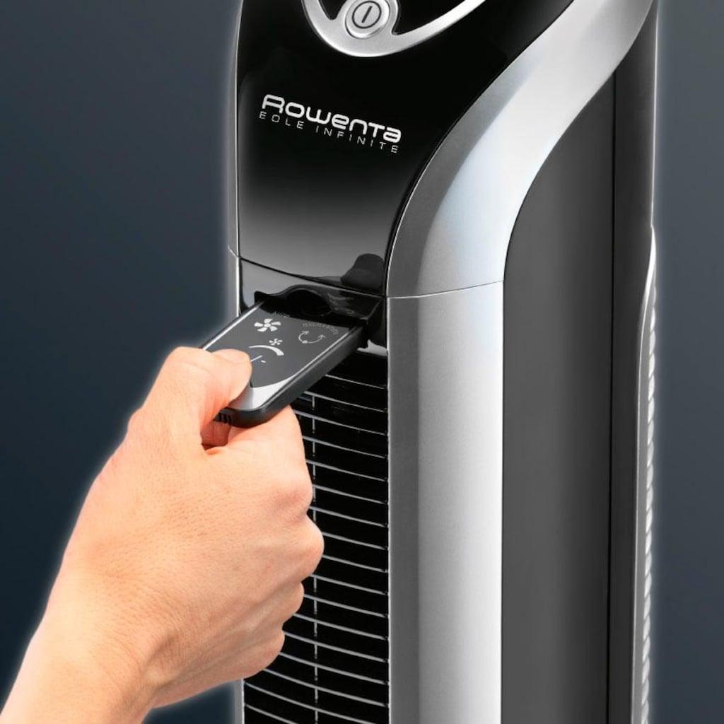 Rowenta Turmventilator »VU 6670F0 EOLE INFINITE«, leistungsfähiges Tangentialgebläse