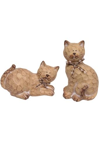 I.GE.A. Tierfigur »Katze a.Terrak.« kaufen