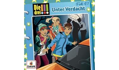 Musik-CD »047/Unter Verdacht / Die drei !!!« kaufen