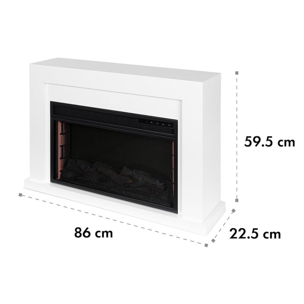 Klarstein Elektrischer Kamin 1000/2000W LED 10-30 °C Wochentimer
