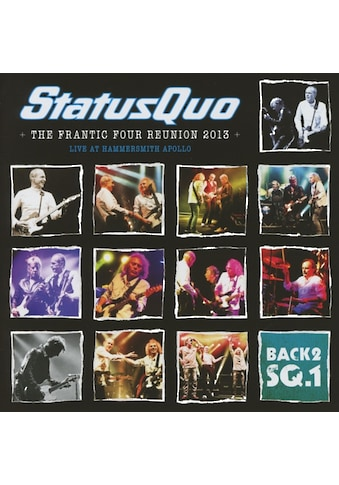 Musik-CD »Back2SQ1-Live At Hammersmith / Status Quo« kaufen
