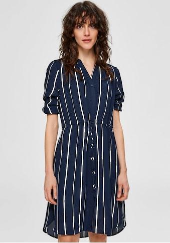SELECTED FEMME Blusenkleid, mit floralem Alloverprint kaufen