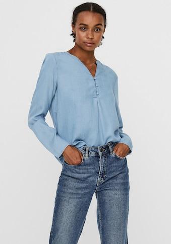 Vero Moda Jeansbluse »VMVIVIANA SHIRT TUNIC« kaufen