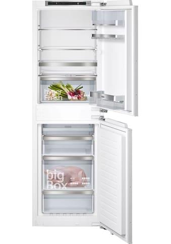 SIEMENS Einbaukühlgefrierkombination »KI85NADE0«, iQ500 kaufen