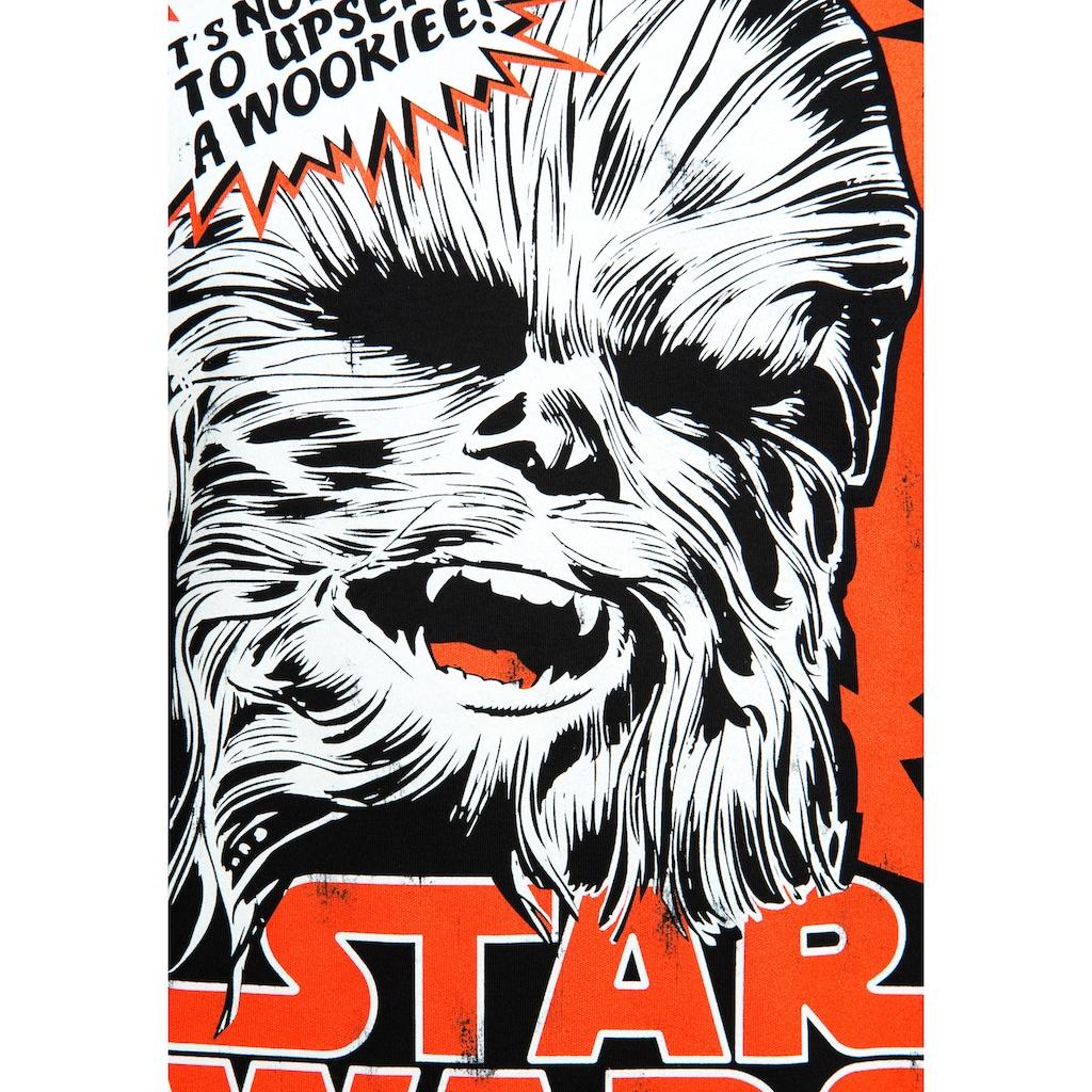 LOGOSHIRT T-Shirt mit coolem Wookie-Print