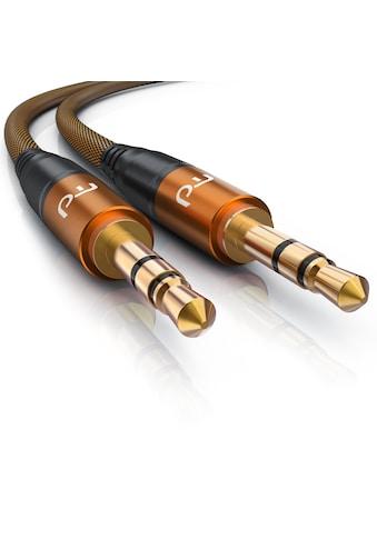 Primewire 3,5mm AUX Audio Klinkenkabel mit Metallstecker kaufen