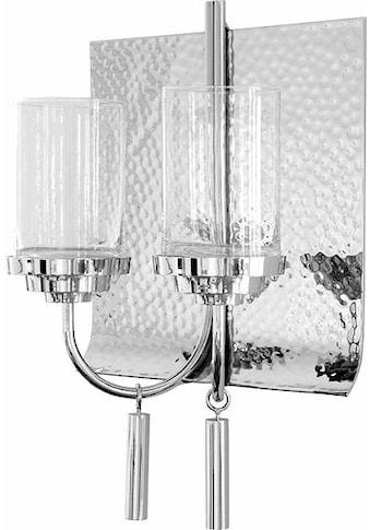 Fink Wandkerzenhalter »TALON«, Kerzen-Wandleuchter, Kerzenleuchter hängend, Wanddeko, vernickelt, in Handarbeit hergestellt, ideal im Esszimmer & Wohnzimmer kaufen