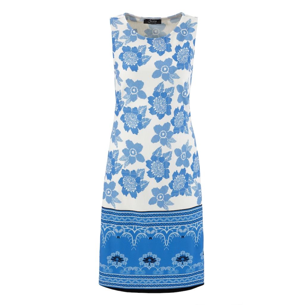 Aniston SELECTED Sommerkleid, im aufregenden Blumendruck - NEUE KOLLEKTION