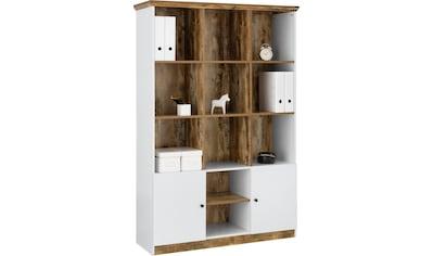 OTTO products Aktenregal »Jaaron«, Breite 120 cm, 11 offene Fächer kaufen
