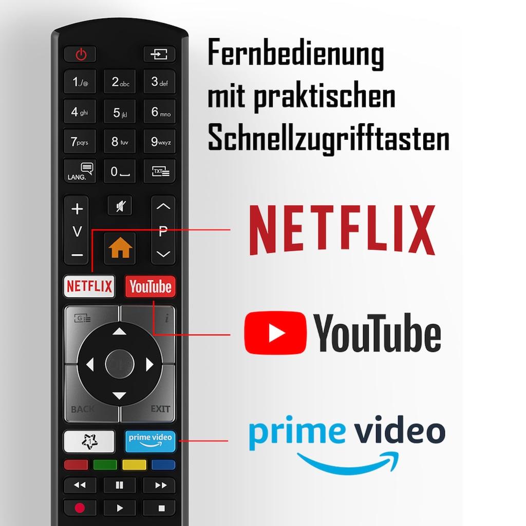 "Telefunken LED-Fernseher »D39H500X1CW«, 98 cm/39 "", HD-ready, Smart-TV"