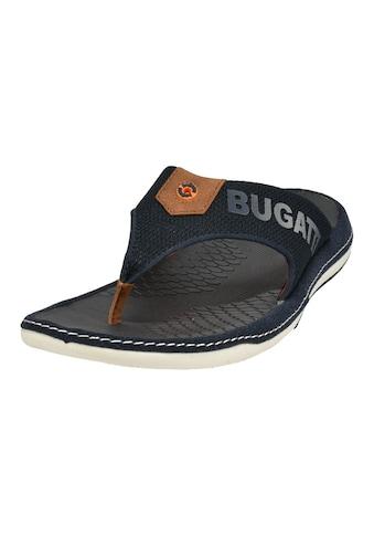 bugatti Zehentrenner »BRANSON«, mit modischem Logoschriftzug kaufen