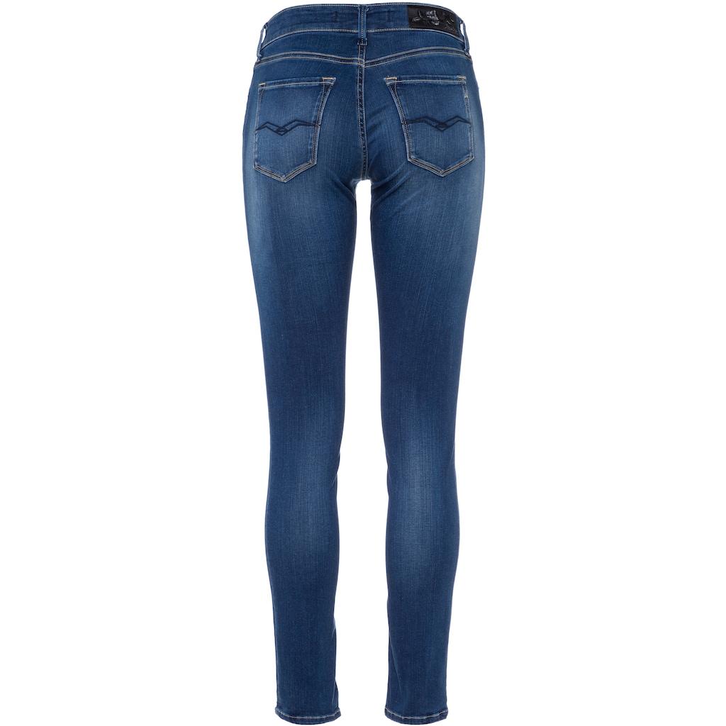 Replay Skinny-fit-Jeans »New Luz«, aus hochelastischem Denimstoff