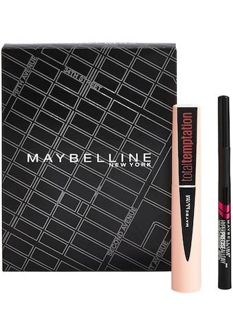 """MAYBELLINE NEW YORK Make - up Set """"Total Temptation Mascara und Hyper Precise Liquid Liner"""", 2 - tlg. kaufen"""