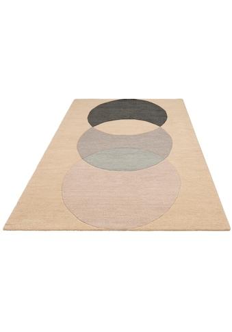andas Teppich »Modern 2«, rechteckig, 14 mm Höhe, Design by Morten Georgsen, Wohnzimmer kaufen