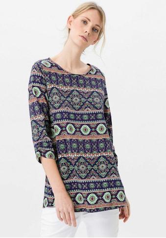Green Cotton 3/4 - Arm - Shirt »Longshirt« kaufen