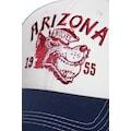 KingKerosin Flat Cap »Arizona«, mit Stickerei und Gummizug